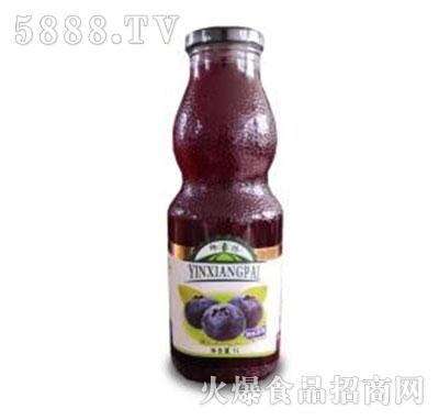 印象派野生蓝莓果汁