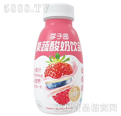 李子园果蔬酸奶饮品280ml