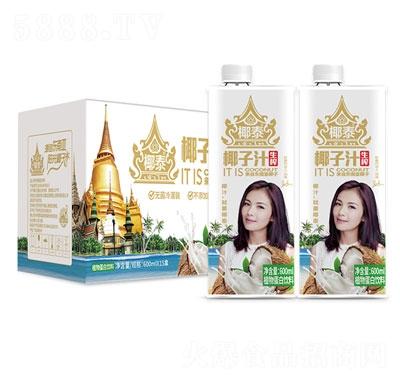 椰泰生榨椰子汁600mlX15