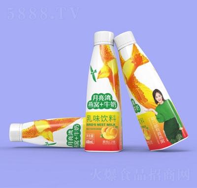 月亮湾燕窝+牛奶乳味饮料黄桃口味400ml