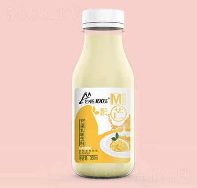 妙畅芒果乳味饮料360ml