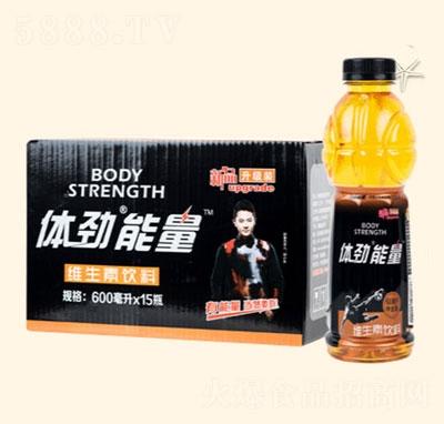 体劲能量维生素饮料600mlx15瓶