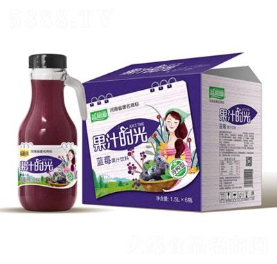 益和源蓝莓果汁饮料1.5LX6