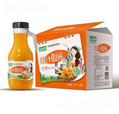 益和源芒果果汁饮料1.5LX6
