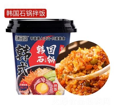 谭司令韩国石锅拌饭144g产品图