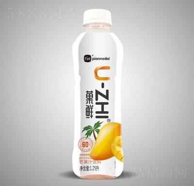 片断�鲜芒果汁饮料1.25L