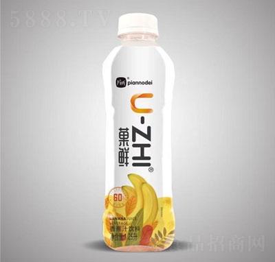 片断�鲜香蕉汁饮料1.25L