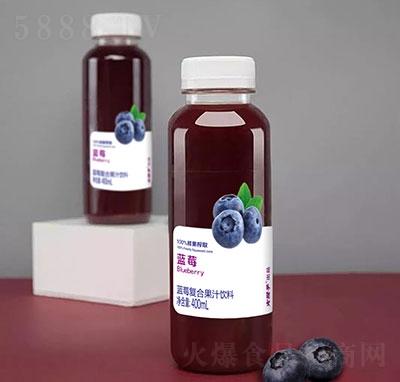 火猴子蓝莓复合果汁饮料400毫升