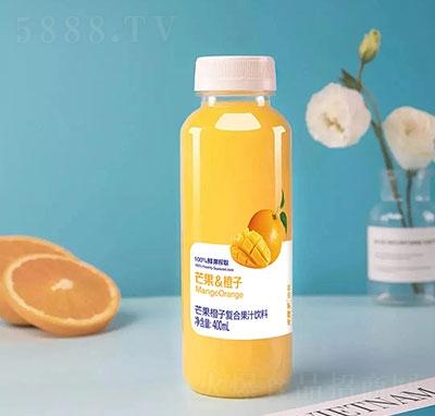 火猴子芒果橙子复合果汁饮料400毫升