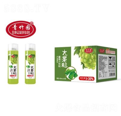青竹园大果粒葡萄汁饮料430mlX15