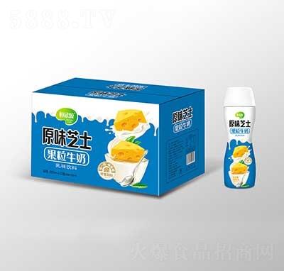 恒欣源原味芝士果粒牛奶480mlx15瓶