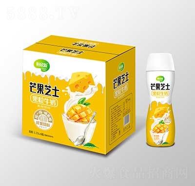 恒欣源芒果芝士果粒牛奶1.25Lx6瓶