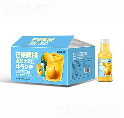恒欣源芒果�S桃果汁430mlx15瓶