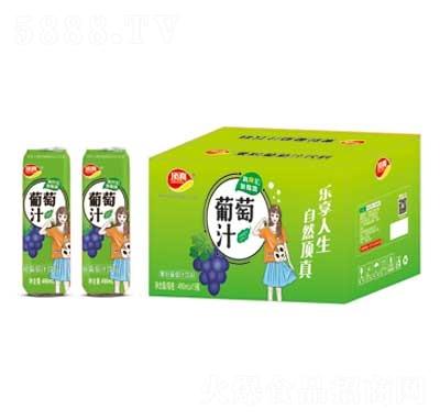 顶真果粒葡萄汁饮料490mlX15
