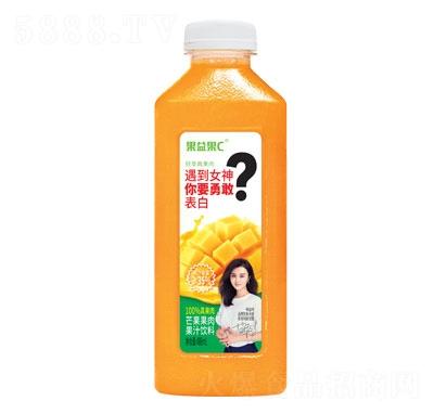 果益果C芒果果肉果汁饮料488ml