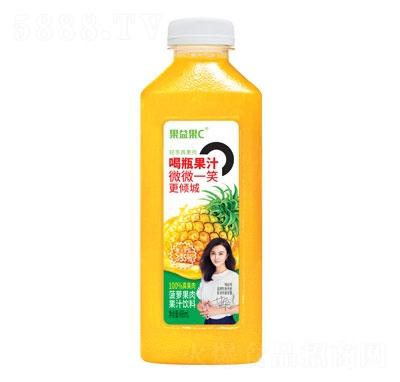 果益果C菠萝果肉果汁饮料488ml