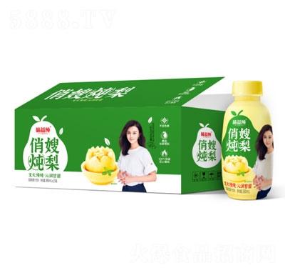 味益纯俏嫂炖梨梨果肉果汁饮料380mlX15