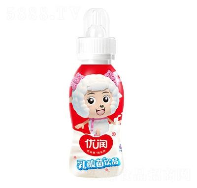 优润乳酸菌饮品原味200ml奶嘴瓶装