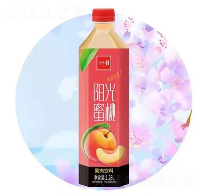 小小��光蜜桃果肉�料1.28L