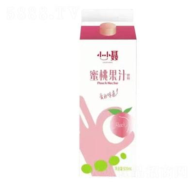 小小�蜜桃果汁�料
