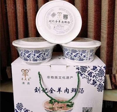 刘记全羊肉鲜汤6碗X185克产品图