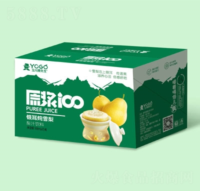 玉川果先生银耳炖雪梨梨汁饮料500mlX15