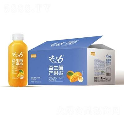 芒小6益生菌芒果汁饮料420mlX15瓶