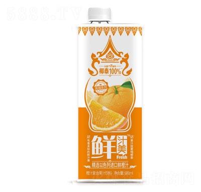 鲜汁美橙汁复合果汁饮料600ml