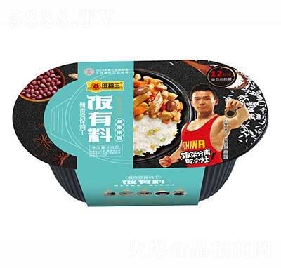 旺福王饭有料自热米饭飘香宫保鸡丁381g