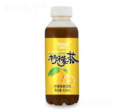 狼队柠檬茶428ml