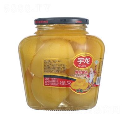 宇龙桃罐头1.25kg罐装