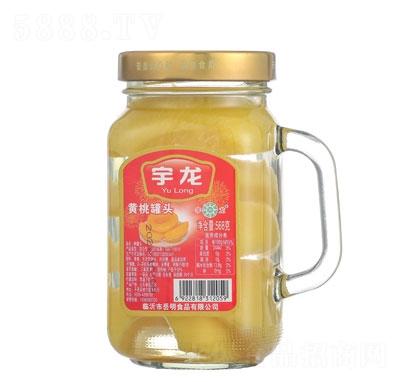 宇龙桃罐头568g