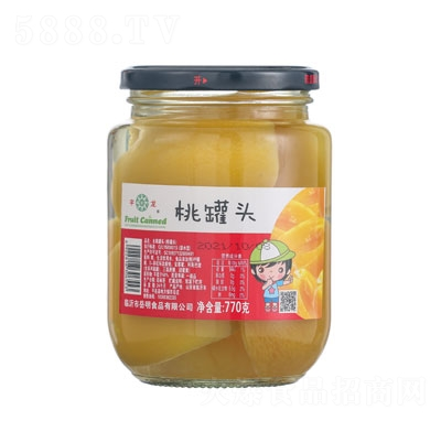 宇龙桃罐头770g