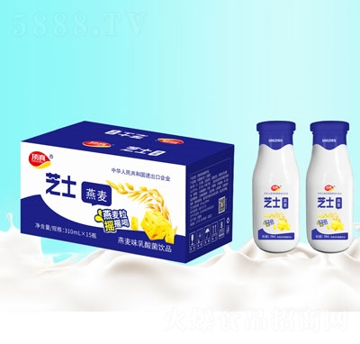 顶真燕麦味乳酸菌310mL×15瓶