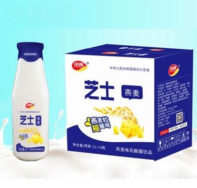 顶真芝士燕麦味乳酸菌1L×6瓶