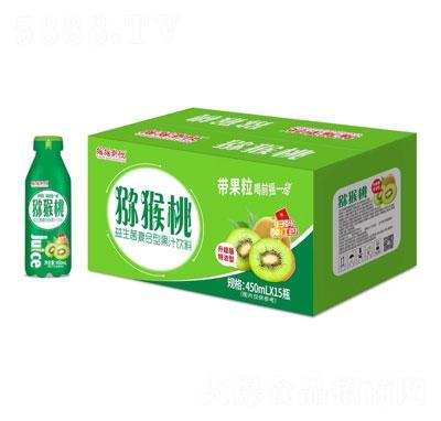 摇摇潮饮猕猴桃益生菌复合型果汁饮料450mlX15瓶