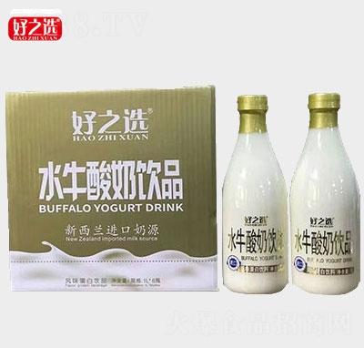 好之�x水牛酸奶�品1Lx6瓶�a品�D
