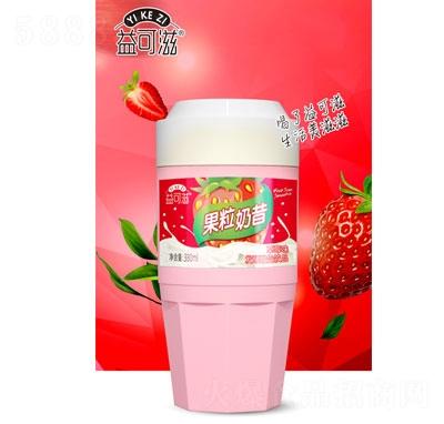 益可滋果粒奶昔草莓味330ml