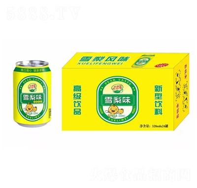 鑫锐青雪梨味碳酸饮料320mlX24