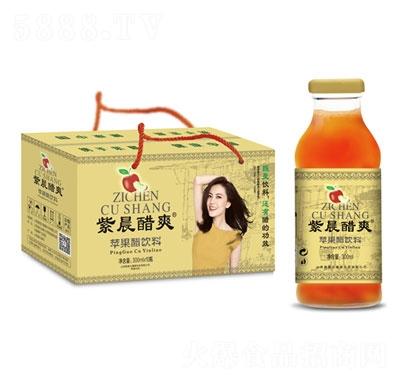 紫晨醋爽苹果醋饮料300mlX10