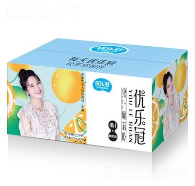 优乐冠香橙果汁饮料610mlX15
