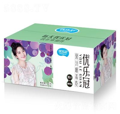 优乐冠葡萄果汁饮料610mlX15