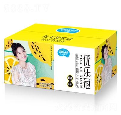 优乐冠柠檬果汁饮料610mlX15
