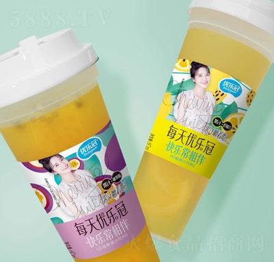 优乐冠柠檬果汁饮料610ml
