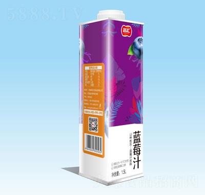 品汇蓝莓汁1.5L