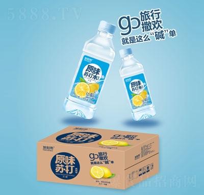 发财雨原味苏打饮料350mlX24