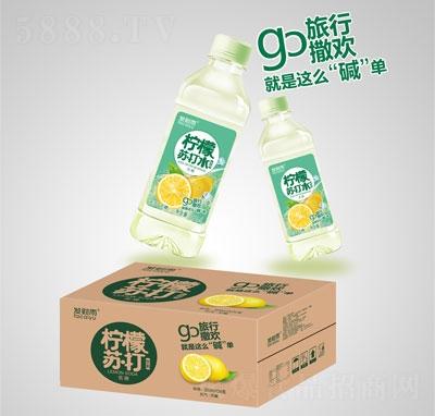 发财雨柠檬苏打饮料350mlX24