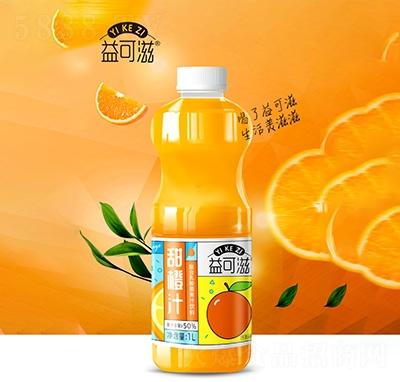 益可滋甜橙汁1L