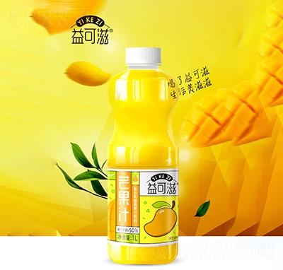 益可滋芒果汁1L