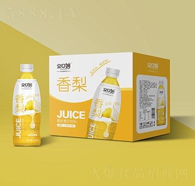 �口妙香梨果粒果汁�料1.25Lx6瓶